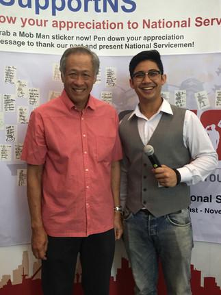 NS Appreciation @ TPY SAFRA with Dr Ng Eng Hen