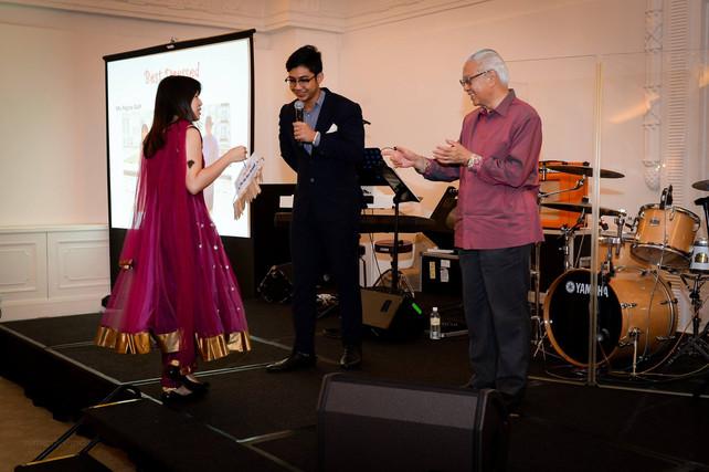 Singapore President Tony Tan's Annual Dinner @ The Istana