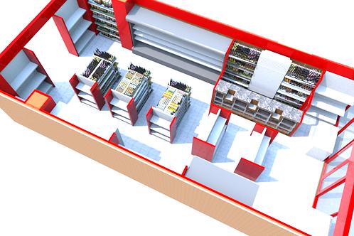 3D Floor Plans and Store Surveys