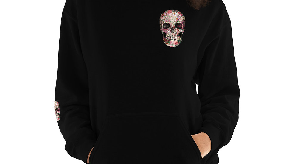 Small candy skull Unisex Hoodie