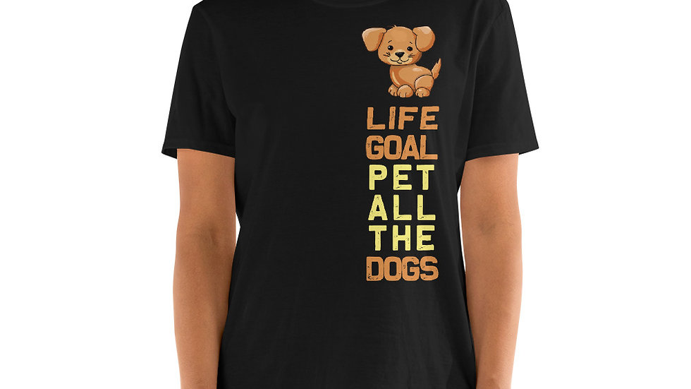 Pet all the dogs Unisex T-Shirt