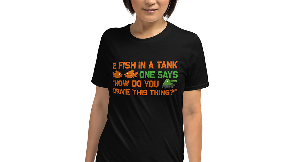 2 fish in a tank Unisex T-Shirt