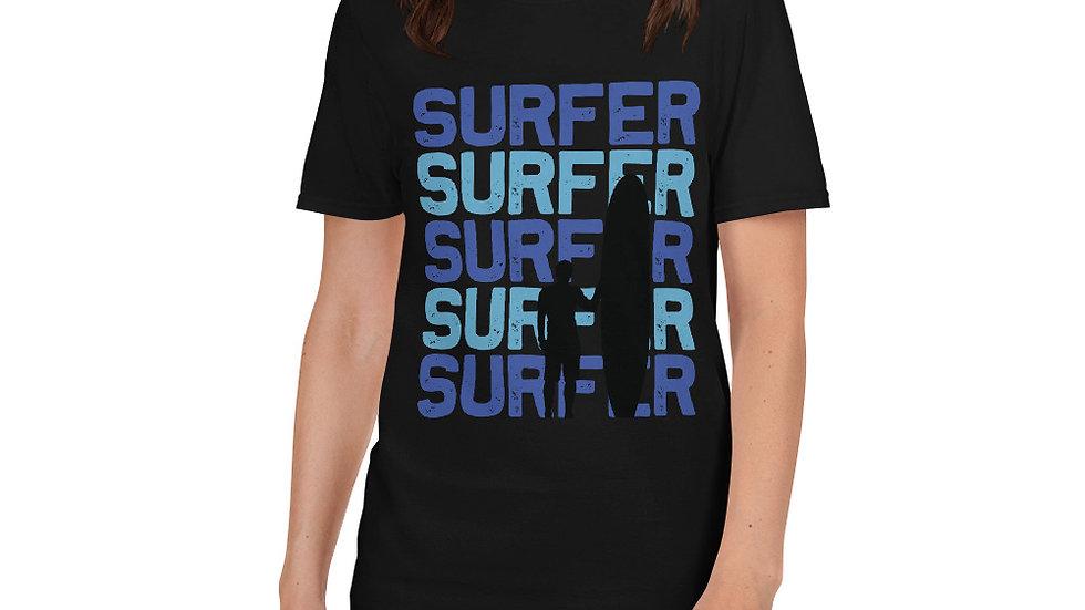 surfer surfer surfer surfer Unisex T-Shirt