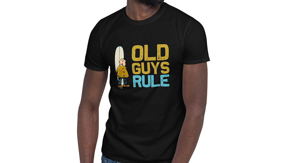 Old Guys Rule surf Unisex T-Shirt