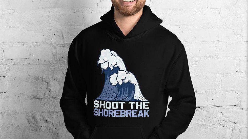 shoot the shore break hoodie