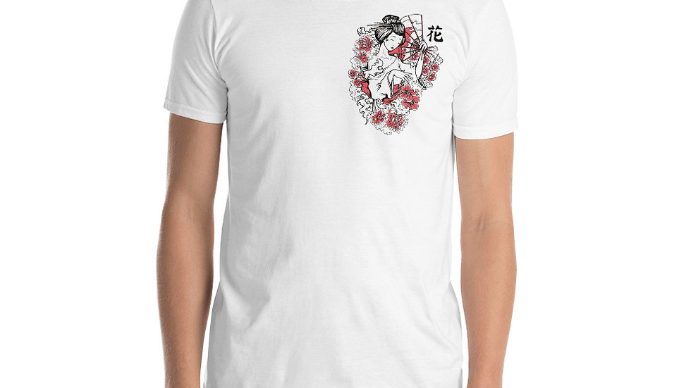 Geisha shoulder Unisex T-Shirt
