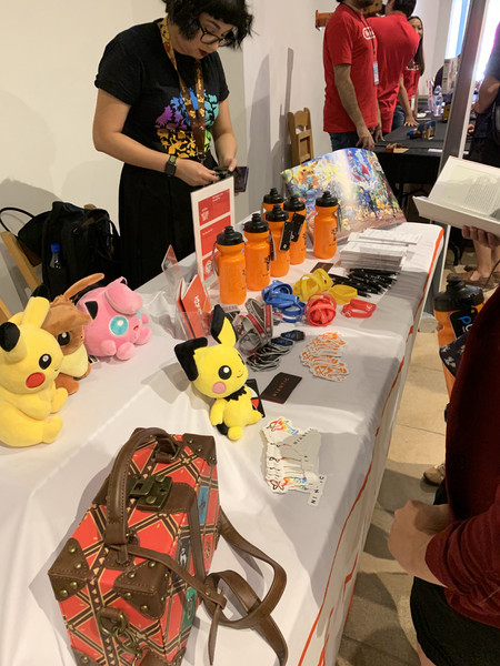 Niantic booth