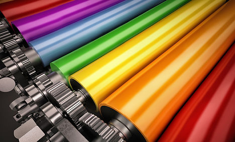 printer color rollers