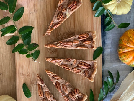 Thanksgiving no-bake pecan pie
