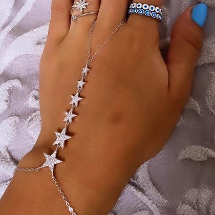 צמיד טבעת שובל כוכבים