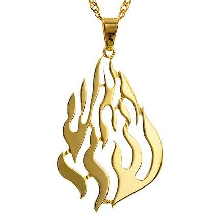 שרשרת האש שלי זהב