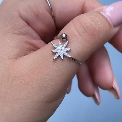טבעת כוכב פתוחה