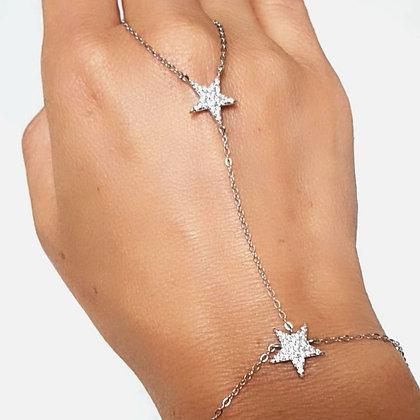 צמיד טבעת גאדי שני כוכבים