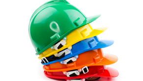 Quelle couleur pour les casques de chantier ?