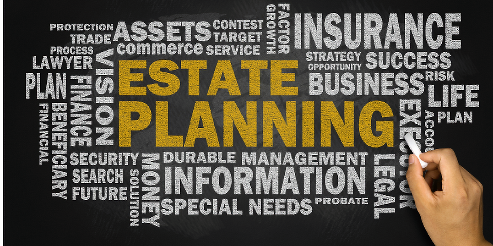 """Estate Planning Workshop: How to Protect your """"Stuff"""" in Three Easy Steps"""