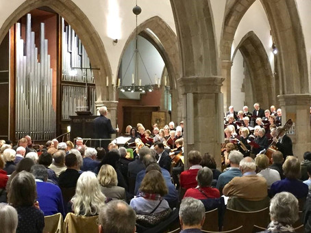 PARISH CHURCH CRUMBLES AT TURNING POINT IN MUSICAL HISTORY