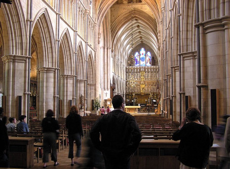 ALL STOPS OUT AT SOUTHWARK CATHEDRAL