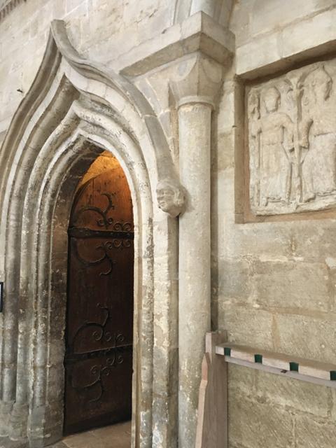 Sacristy entrance