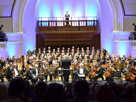 INSIGHT INTO 'CELESTIAL CHOIR' OF SCHOOLBOYS AT LONDON CONCERT