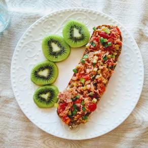 So-easy tuna sandwich