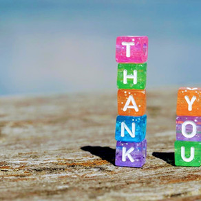 Gratitude boosts our happiness