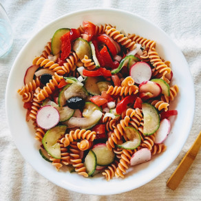 Easy pasta salad for warm days