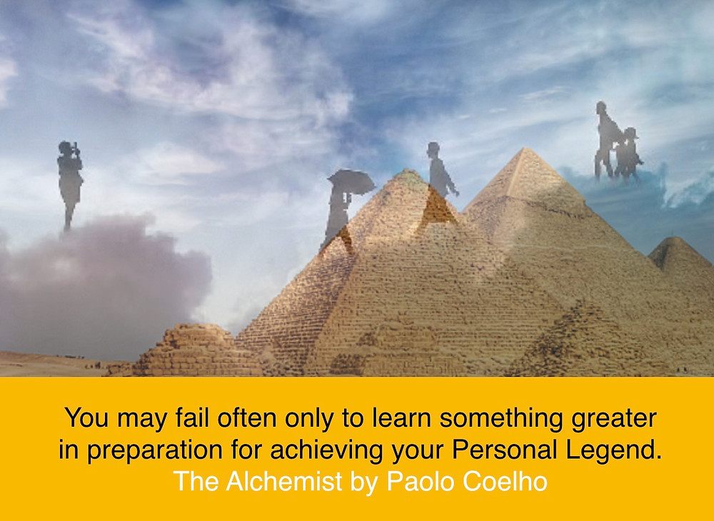 How to achieve personal legend from the Alchemist