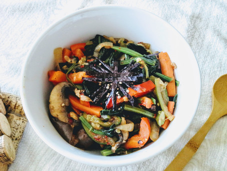 One-Pot Bibimbap for a Busy Cook