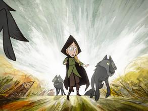 'Wolfwalkers' doet Keltische mythologie sprankelen