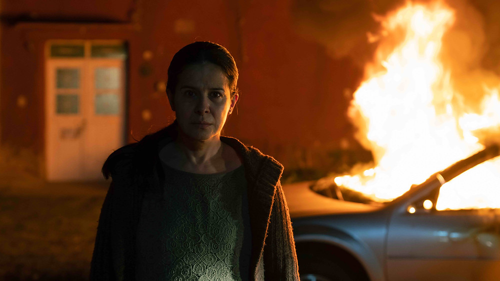 Still uit de openingsfilm 'La civil' van Teodora Ana Mihai