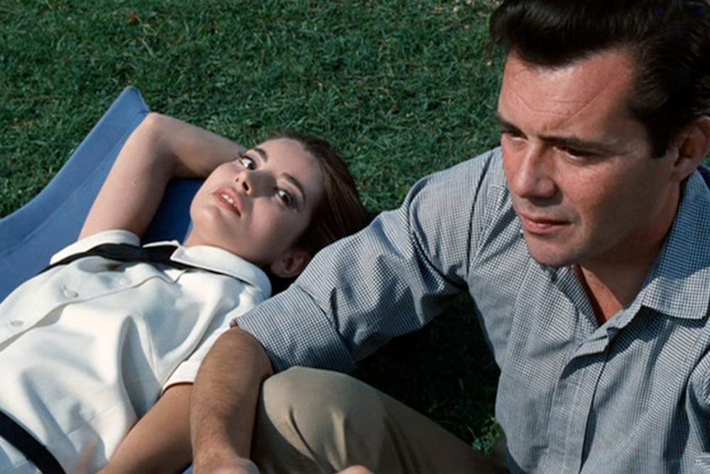 Jacqueline Sassard en Dirk Bogarde in 'Accident'