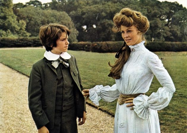 Dominic Guard en Julie Christie in 'The go-between' van Joseph Losey.