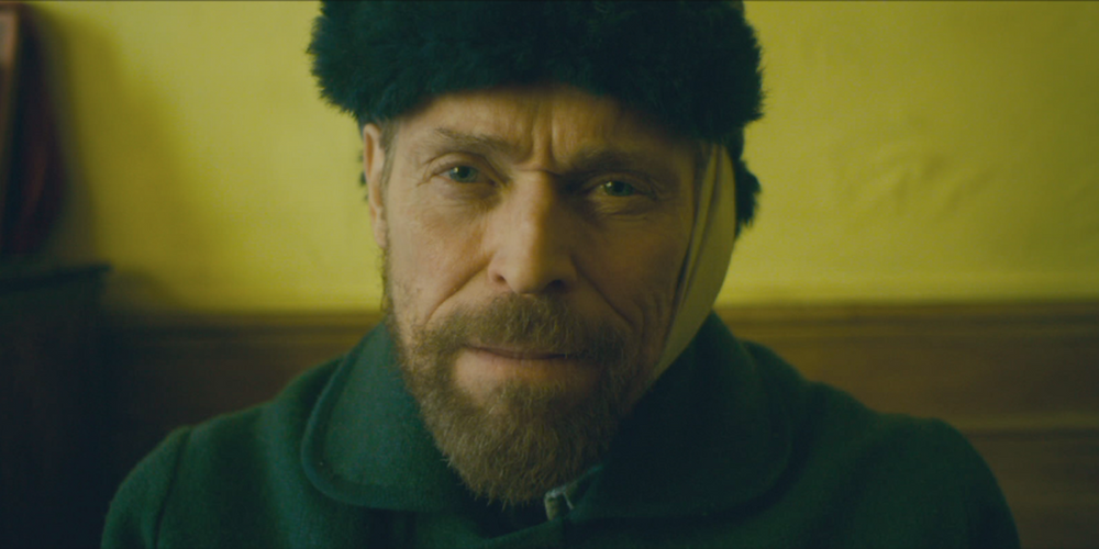 Willem Dafoe als Van Ggh in 'At eternity's gate'.
