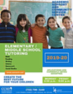 ASCSC ELEMENTARY & MIDDLE SCHOOL Flyer 2