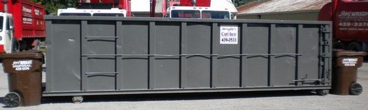 30 yard Cartaway dumpster