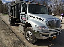 Rolloff Dumpster truck