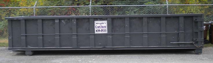 20 yard Cartaway dumpster