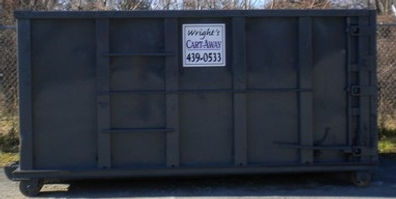 15 yard Cartaway Dumpster