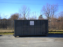 Rolloff Dumpster for waste removal