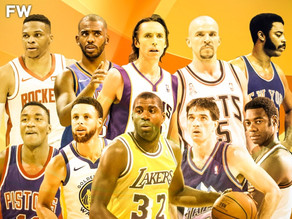 The Villain's Top 5 Point Guards of All Time