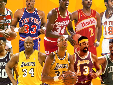 The Villain's Top 5 Center of All Time