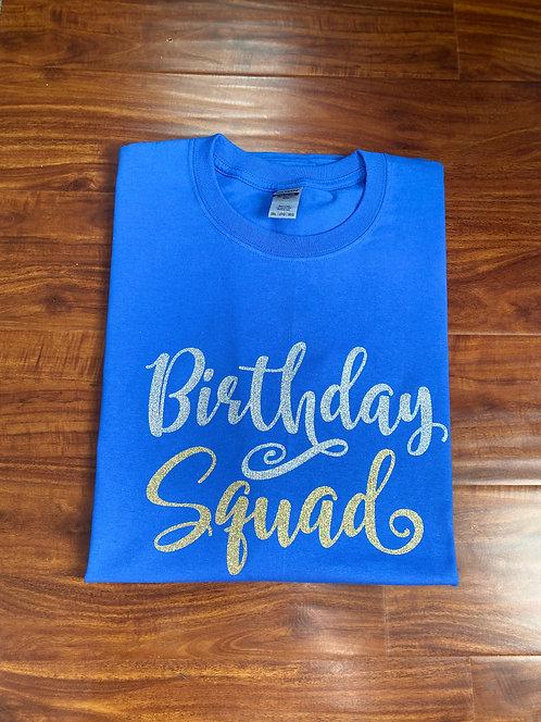 Birthday Squad T-Shirt