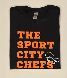Sport City Chefs Logo T-Shirt.JPG
