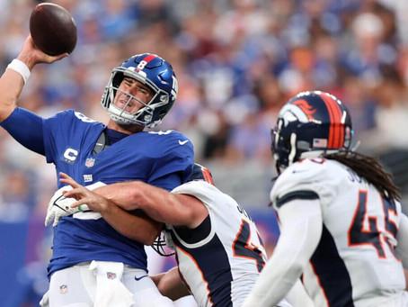 Takeaways from New York Giants Loss in Week 1