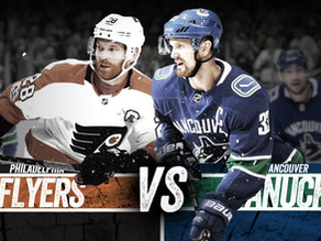 Philadelphia Flyers Game 1 Recap