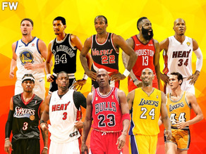 The Villain's Top 5 Shooting Guards of All Time