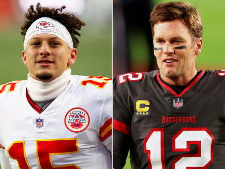 Tom Brady vs. Patrick Mahomes; Old Legend vs. Legend in Making
