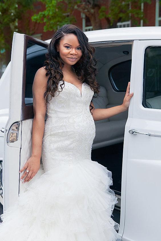 Beautiful Wedding Dress and Ring