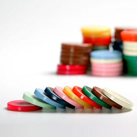 Cera Disco Chocolate, Rosa, Branca, 200g