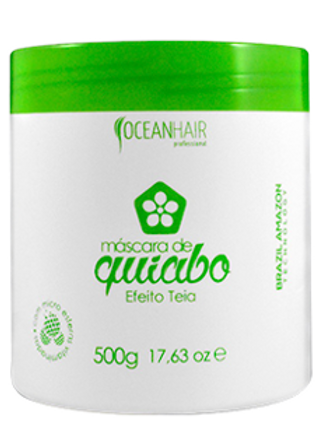 MÁSCARA DE QUIABO EFEITO TEIA, 500g